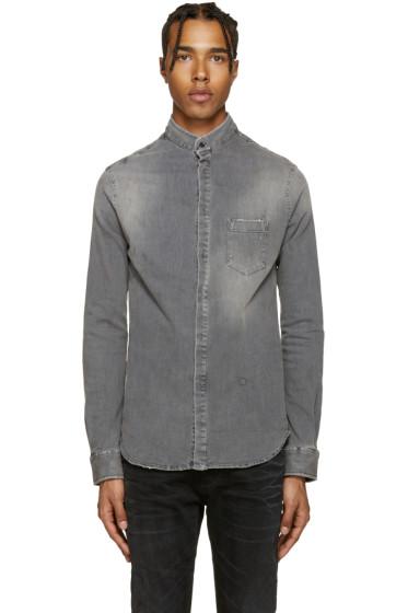 Pierre Balmain - Grey Denim Shirt