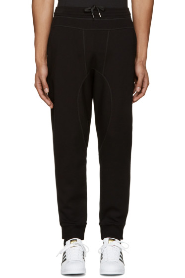 Neil Barrett - Black Slim Lounge Pants
