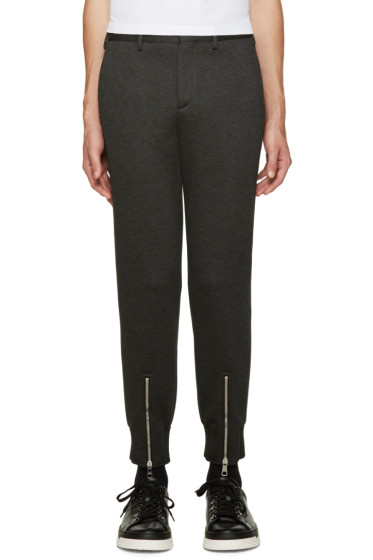 Neil Barrett - Grey Neoprene Trousers
