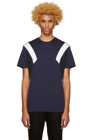 Neil Barrett - Tricolor Retro Modernist T-Shirt