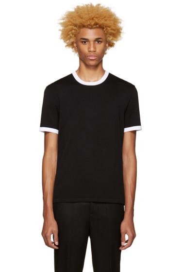 Neil Barrett - Black Knit T-Shirt
