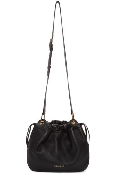 Burberry - Black Derby House Check Bag