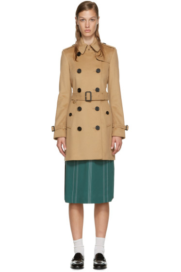 Burberry - Brown Kensington Trench Coat