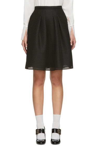 Burberry - Black Duddon Skirt