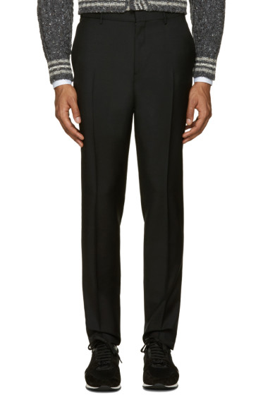 Burberry - Black Stirling Slim Trousers