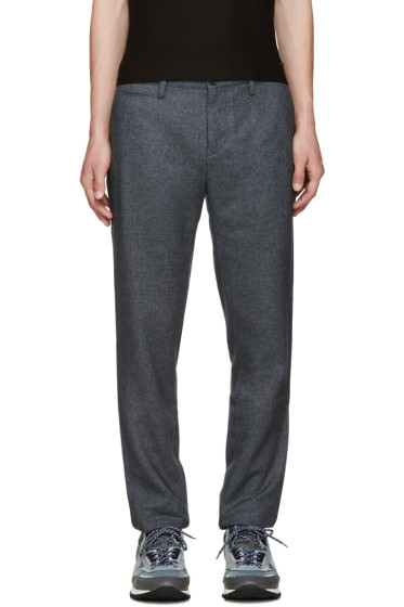 Burberry - Blue Walham Trousers
