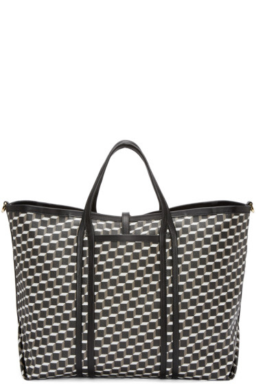 Pierre Hardy - Tricolor Canvas Polycube Tote