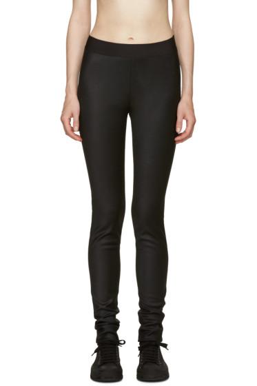 Ann Demeulemeester - Black Shiver Leggings