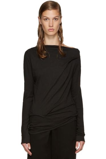 Ann Demeulemeester - Black Lucian T-Shirt