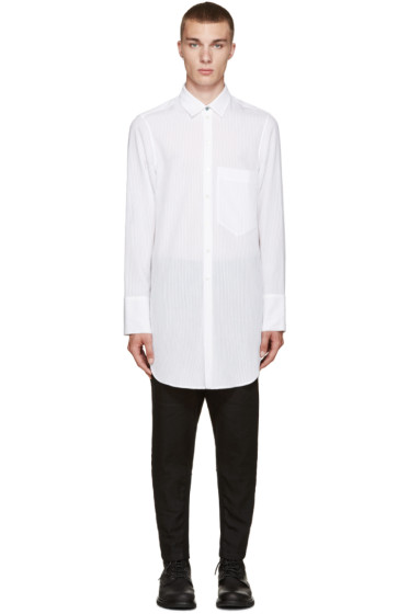 Ann Demeulemeester - White Striped Shirt