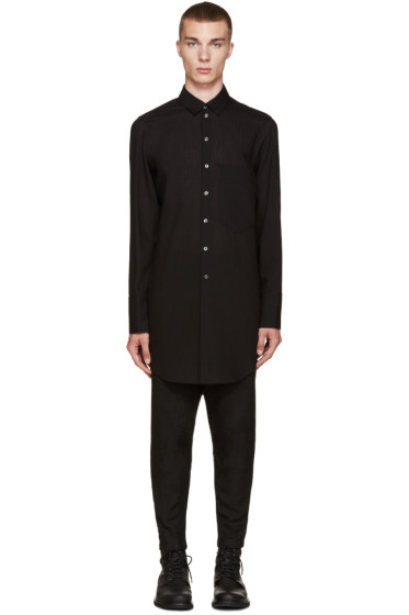 Ann Demeulemeester - Black Long Shirt