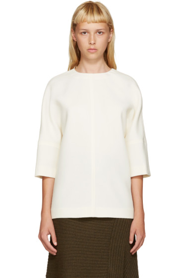 Marni - Ivory Wool Blouse