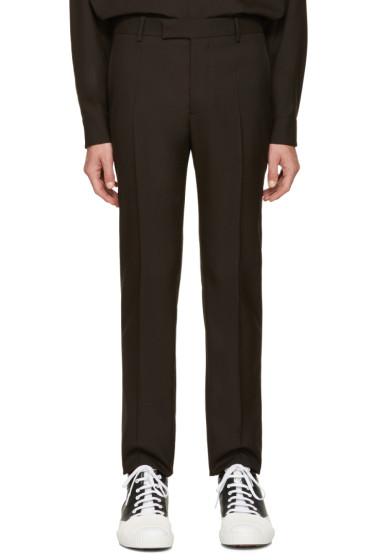 Marni - Brown Wool Trousers