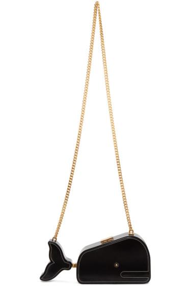 Thom Browne - Black Whale Shoulder Bag