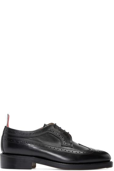 Thom Browne - Black Leather Brogues