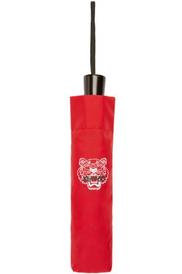 Kenzo - Red Tiger Compact Umbrella