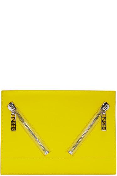 Kenzo - Yellow Kalifornia Zip Pouch