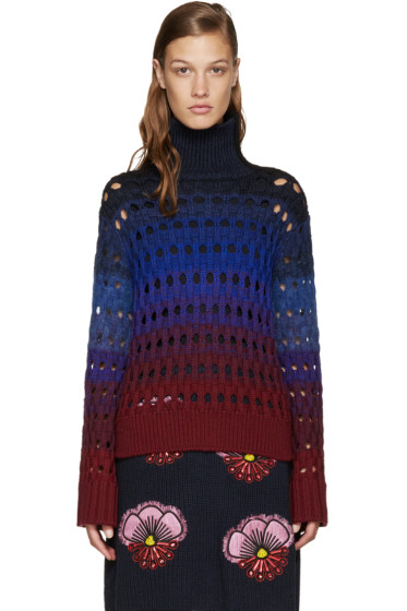 Kenzo - Multicolor Hemstitched Turtleneck