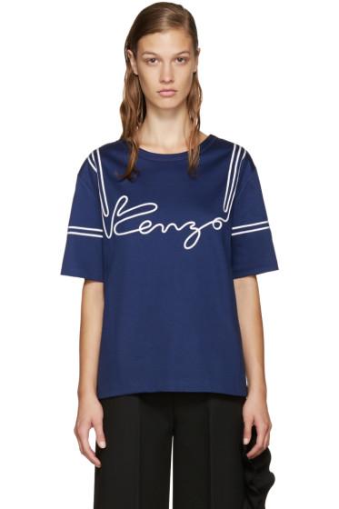 Kenzo - Blue Ribbons T-shirt