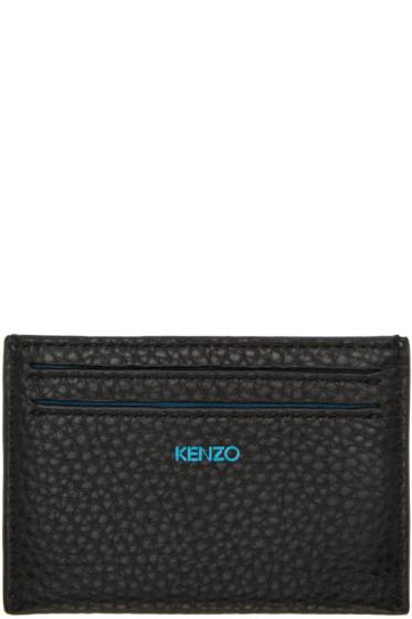 Kenzo - Blue Printed Card Holder