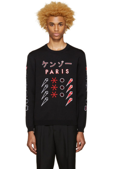 Kenzo - Black Paris Japan Sweater