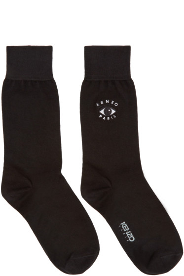 Kenzo - Black Eye Logo Socks