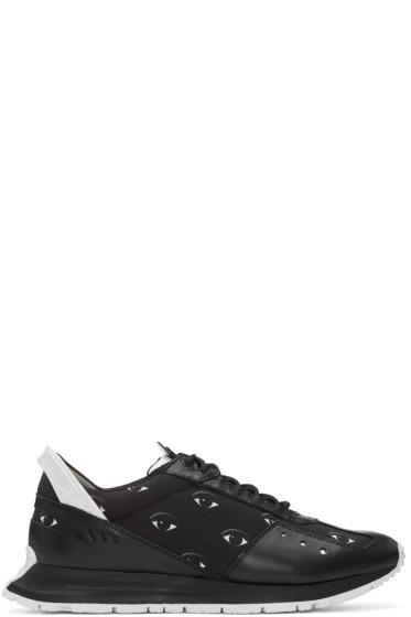 Kenzo - Black Eye Print Cloro Sneakers