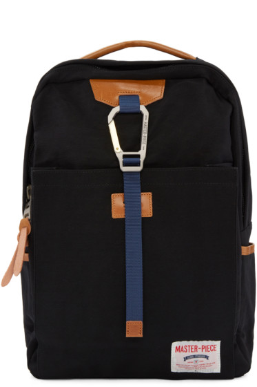 Master-Piece Co - Black Buckle Backpack