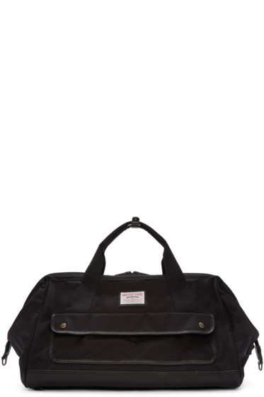 Master-Piece Co - Black Canvas Body Bag
