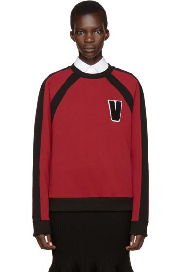Versus - Red 'V' Pullover