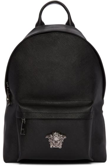 Versace - Black Medusa Backpack
