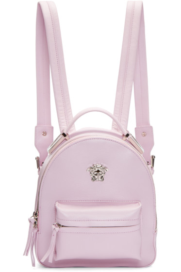 Versace - Pink Medusa Mini Backpack