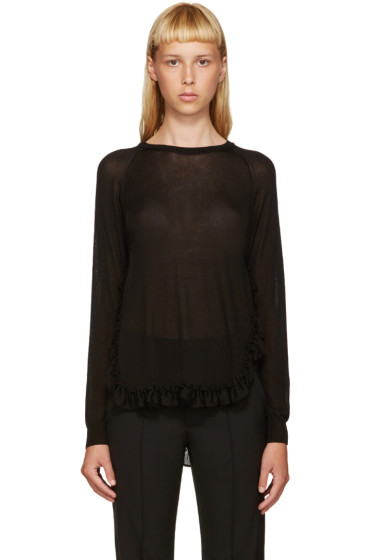Simone Rocha - Black Ruffled Sweater