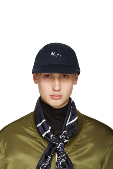 Sasquatchfabrix - Navy 'Do Not Kill' Korosuna Cap