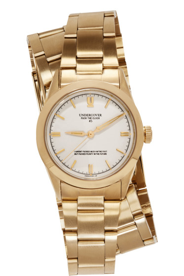 Undercover - Gold Double-Wrap Watch