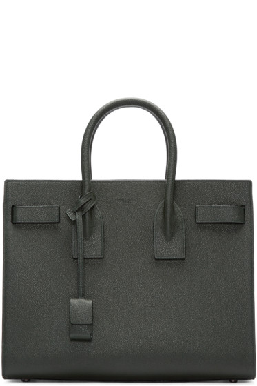 Saint Laurent - Green Small Sac de Jour Tote