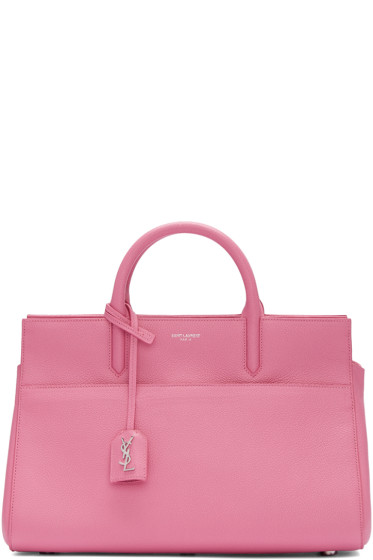 Saint Laurent - Pink Small Cabas Rive Gauche Bag