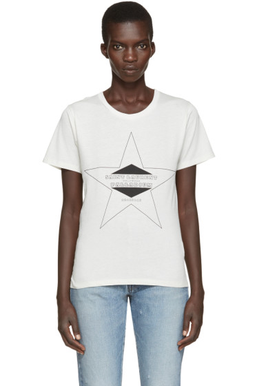 Saint Laurent - Off-White Palladium T-Shirt