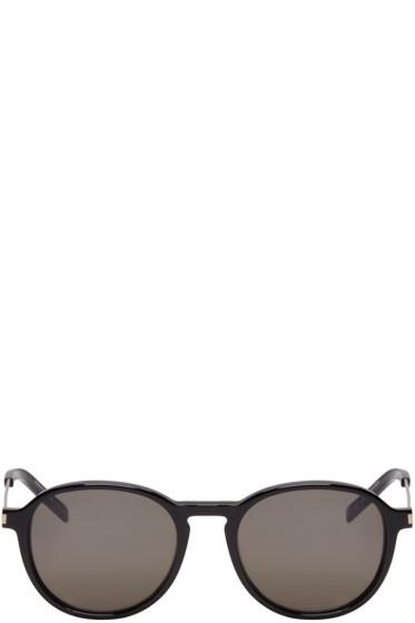 Saint Laurent - Black Panthos SL 110 Sunglasses