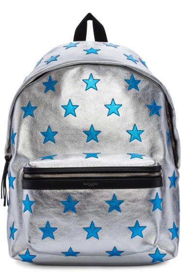 Saint Laurent - Silver Stars Backpack