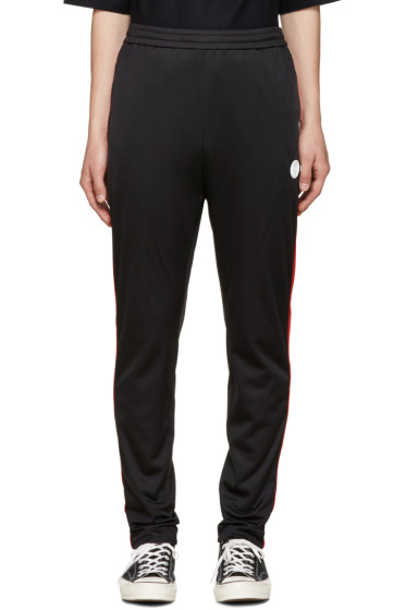 MSGM - Black Striped Track Pants