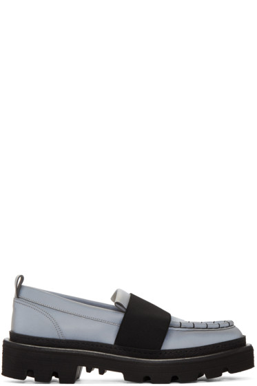 MSGM - Grey MS Gore Loafers