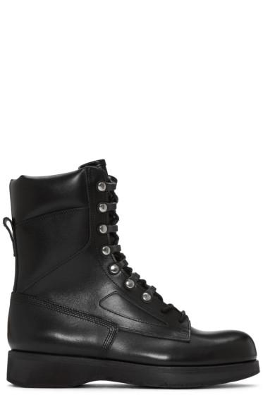 Sacai - Black Hender Scheme Edition Lace-Up Boots