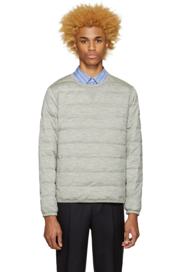 Nanamica - Grey Down Pullover