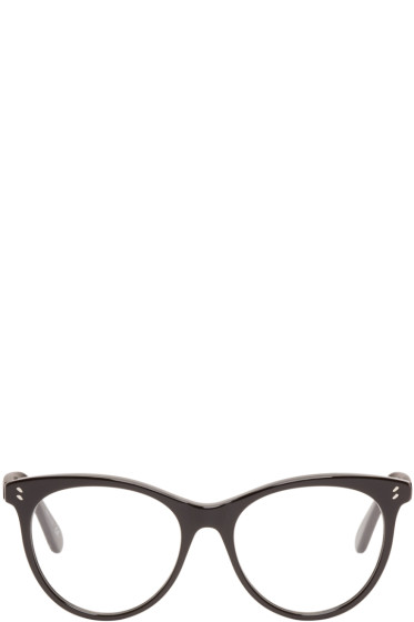 Stella McCartney - Black Round Optical Glasses
