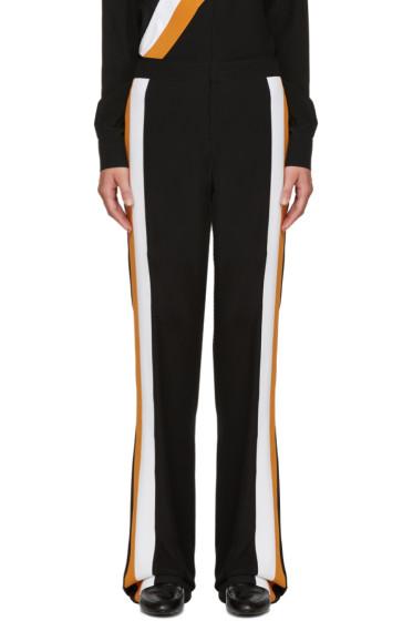 Stella McCartney - Black Wide-Leg Silk Trousers