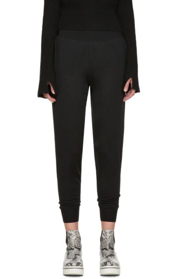 Stella McCartney - Black Wool Lounge Pants