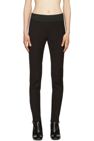 Stella McCartney - Black Stretch Jersey Leggings