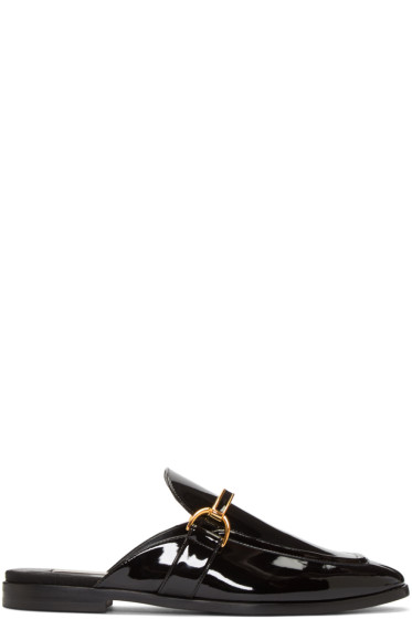 Stella McCartney - Black Holzer Loafers