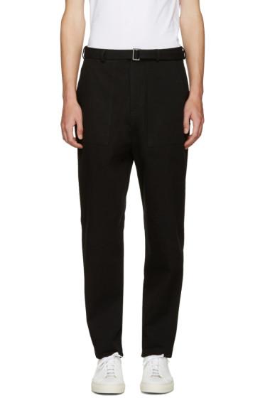 Umit Benan - Black Belted Trousers